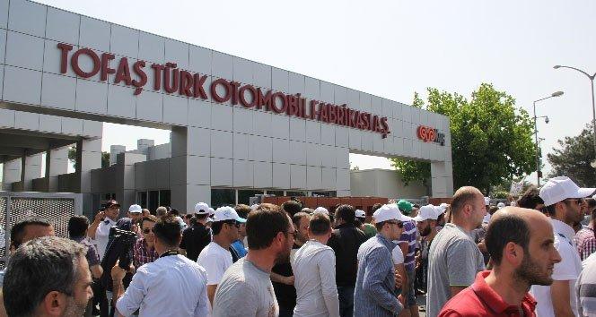 Tofaş'tan eylem yapan işçilere son uyarı!