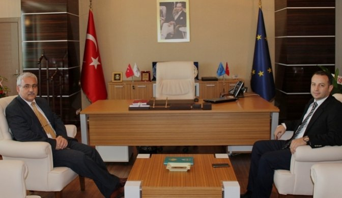 Vali Güvençer TKDK İl Koordinatörlüğünü Ziyaret Etti