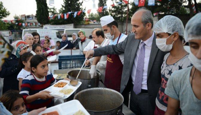 Dulkadiroğlu'nda Ramazan coşkusu devam ediyor