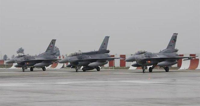 Türk jetleri Suriye için 'kırmızı' alarma geçti!