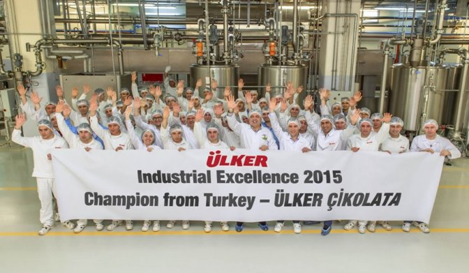 Ülker Çikolata Türkiye şampiyonu!