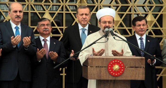 Beştepe Camii ibadete açıldı!