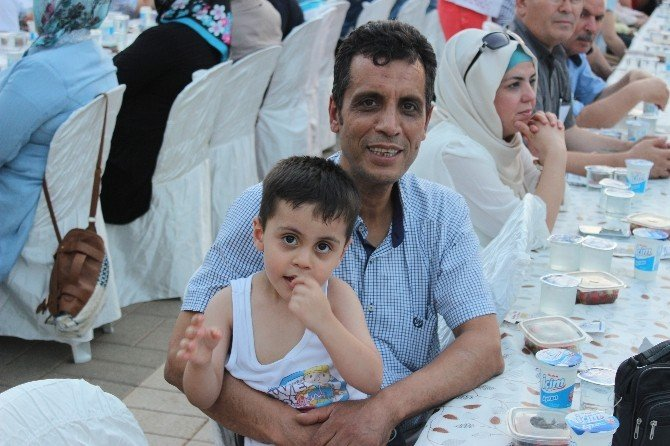 Ak Parti vefa iftar programı