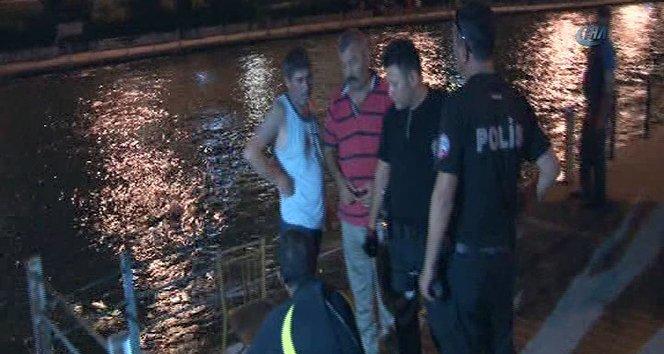 Sulama kanalında kayboldu!