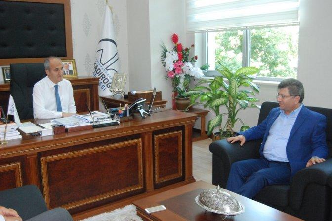 MHP'li Aycan Erkoç ve Okay'ı ziyaret etti!
