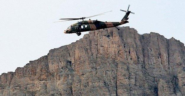 Helikoptere roketatarlı saldırı: 1 şehit!