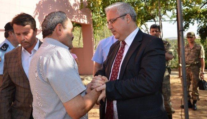 Kahramanmaraş Valisi Güvençer'den Ağrı gazisine ziyaret