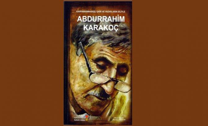 Şair ve Yazarların Diliyle 'Abdurrahim Karakoç'