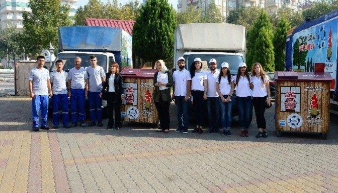 Onikişubat'ta Atık Ambalaj Toplama Projesi