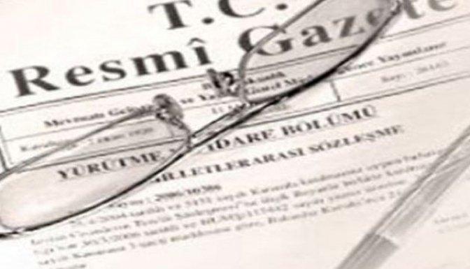 Büyükelçi atamaları Resmi Gazete'de!