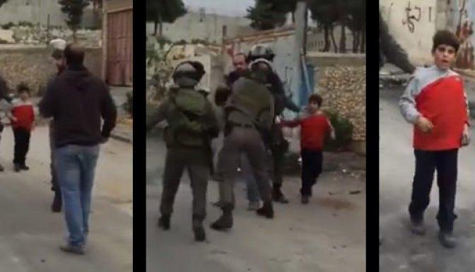 İsrail askerleri 6 yaşındaki çocuğu tutukladı!