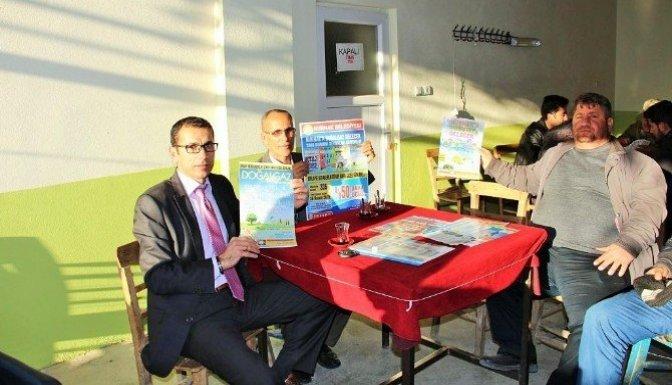 Nurhak'ta doğalgaz seferberliği sürüyor