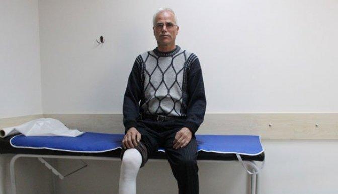 Ameliyat olmasaydı ayağını kaybedecekti!