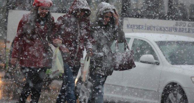 Kuvvetli kar yağışı geliyor!