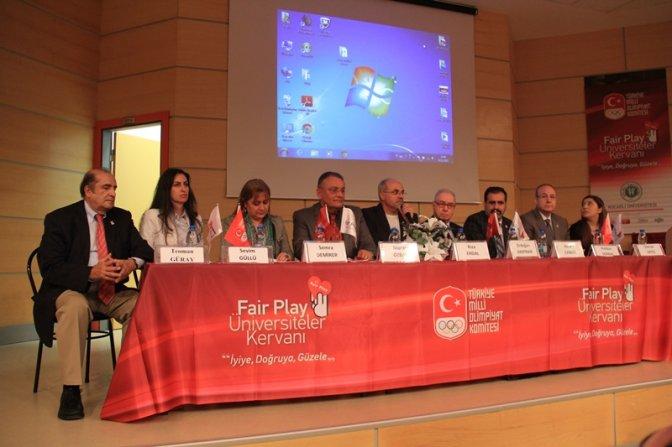 Fair-Play Kervanı Mustafa Kemal Üniversitesi'nde