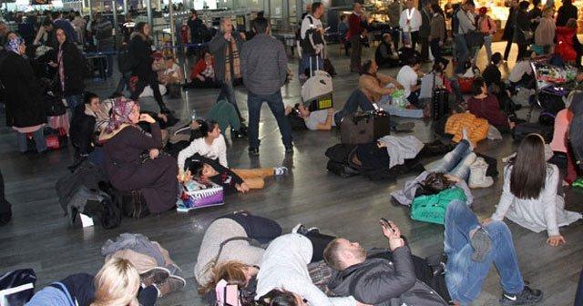 Atatürk Havalimanı'nı otele çevirdiler!