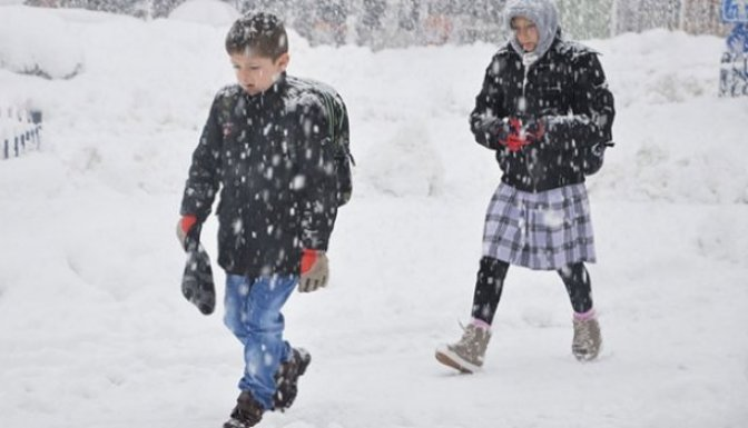 Kahramanmaraş'ta okullar tatil!