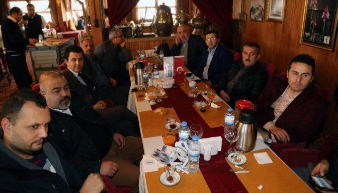 Başkan Karaküçük Gazeteciler ile bir araya geldi