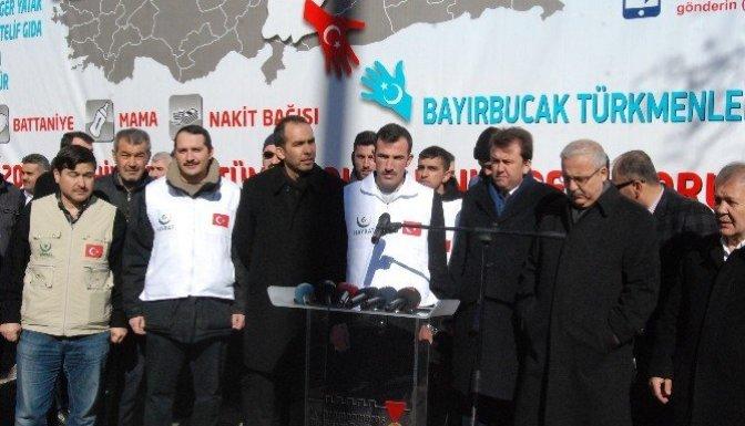 Kahramanmaraş'ta Türkmenler İçin Yardım Çağrısı