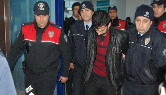 Kahramanmaraş'ta banka soygunu kamerada