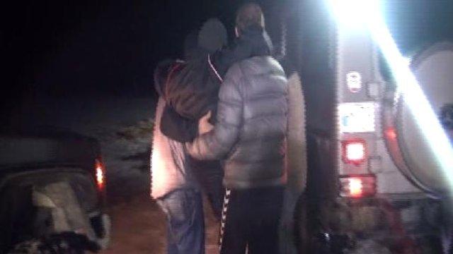 112 yolda kalınca yardıma Off-road ekipleri yetişti