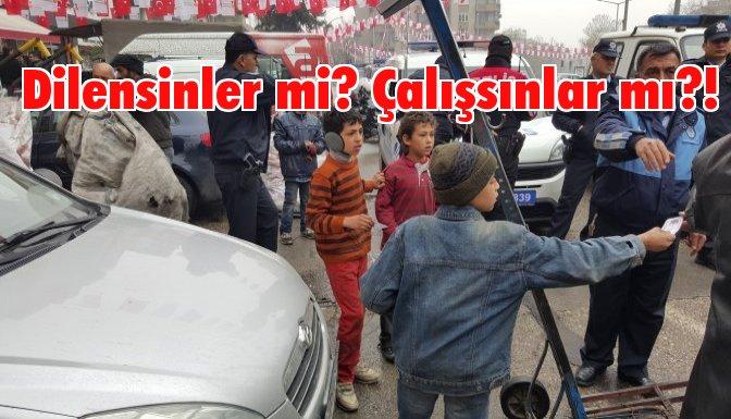 Kağıt toplayan Suriyelilerin arabalarını topladılar!