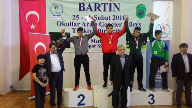 Şampiyon Kahramanmaraş Spor Lisesi...