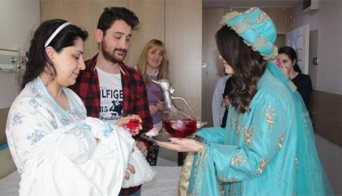 Hastanede Osmanlı kültürü yaşatılıyor!