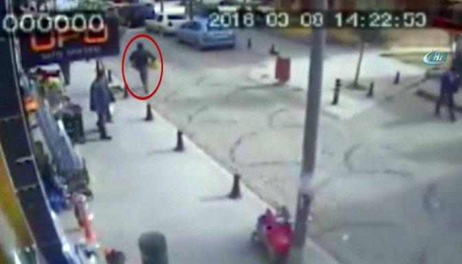 Hırsız çaldı, vatandaş izledi!