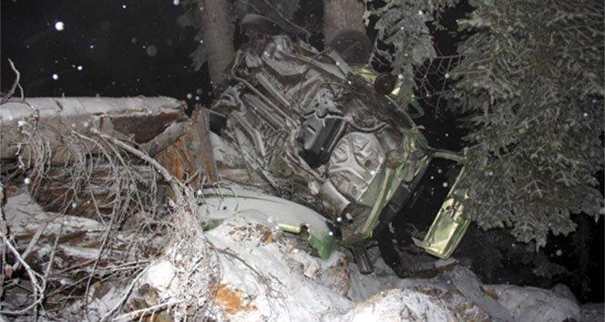 Cenaze yolunda feci kaza: 2 ölü, 2 yaralı!