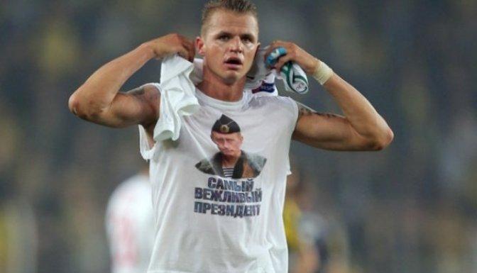 Putin tişörtüne 5 bin euro ceza!