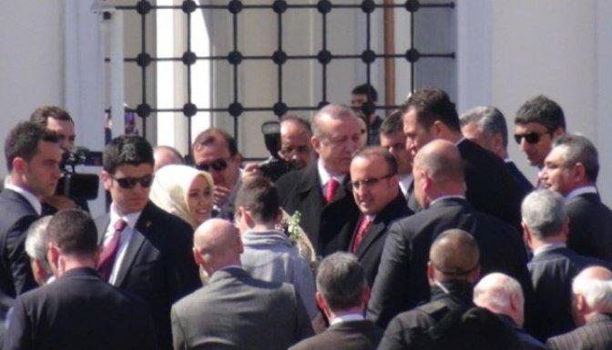 Erdoğan cami açılışını yaptı!