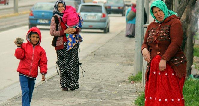 Bunlar da sahte Suriyeli dilenciler..
