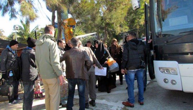 İzmir'de sığınmacı gerginliği!