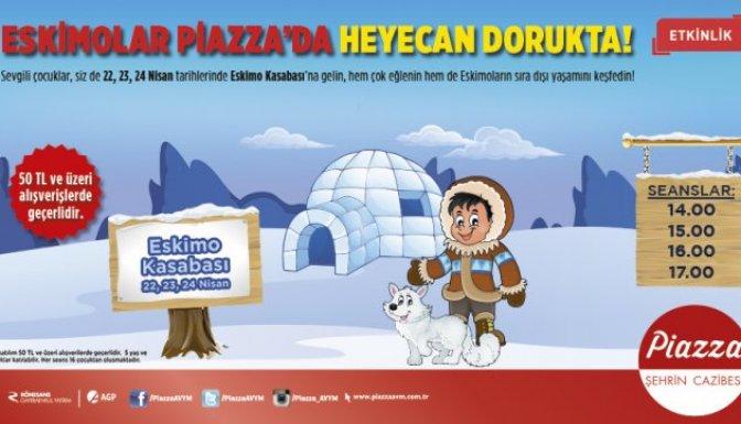 Eskimolar Piazza'ya geliyor