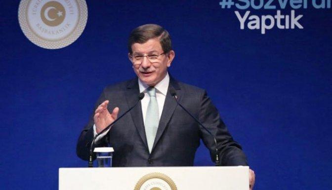 Davutoğlu: 'Siyasi etik kanun teklifini TBMM'ye sevk ettik'!