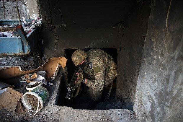 Şırnak'ta her yer bomba, her yer tünel!