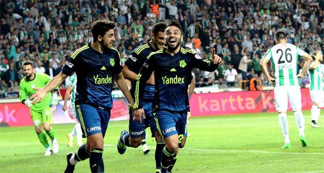 Torku Konyaspor 0-3 Fenerbahçe!