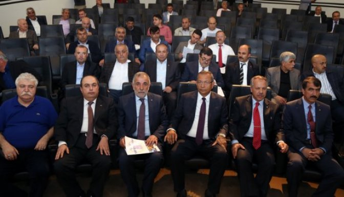 Tekstil Makine Üreticileri ve Alıcıları Kahramanmaraş'ta