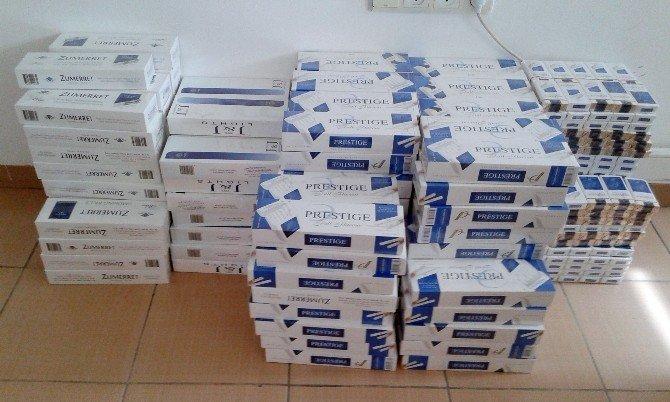 200 bin paket kaçak sigara ele geçirildi!