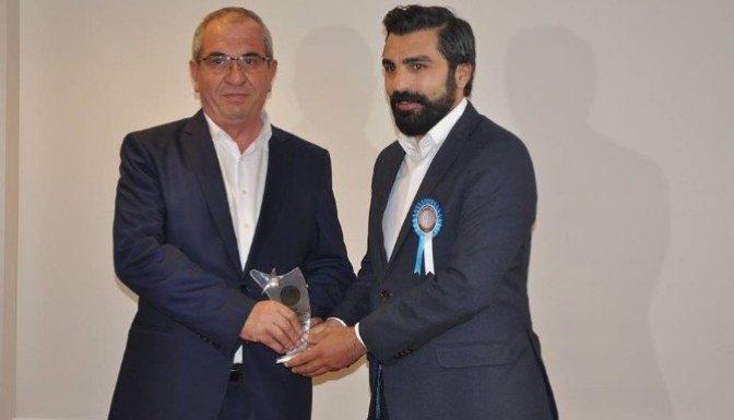 Eren Şar'a Yılın İş Adamı ödülü