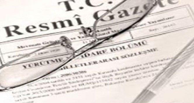 Resmi Gazete'de atama kararları!