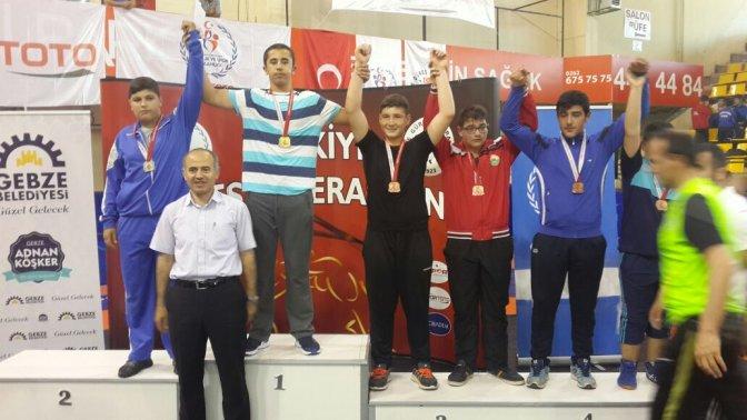 Kahramanmaraş Gençlik Türkiye Şampiyonu!