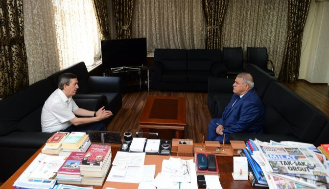 Adalet Komisyonu Başkanı'ndan Mahçiçek'e veda ziyareti!