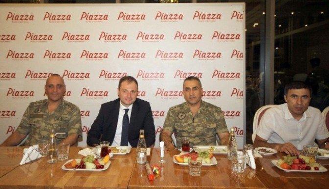 Piazza, Protokol üyeleri ile Basını İftarda buluşturdu