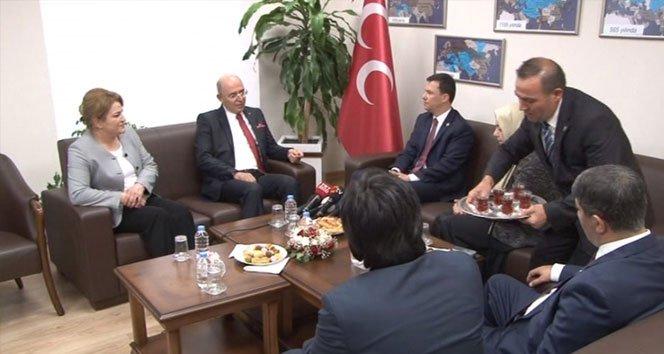AK Parti'den MHP'ye bayram ziyareti!