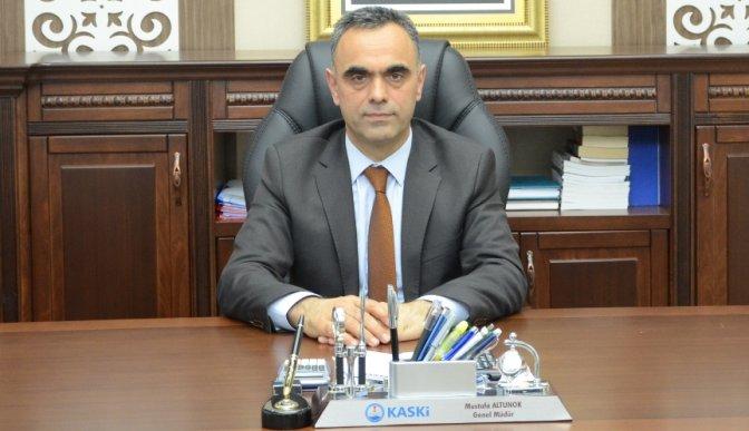 KASKİ Genel Müdürü Altunok görevden alındı!