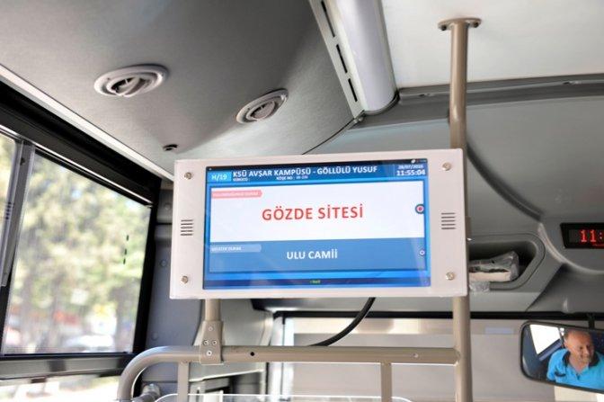 Toplu taşıma araçlarında yolcu bilgilendirme sistemi