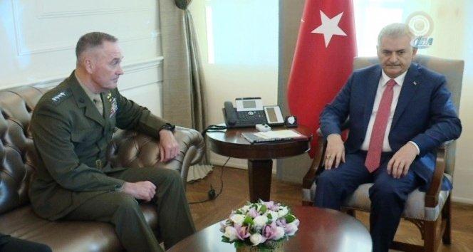 Başbakan Yıldırım ABD Genelkurmay Başkanı ile görüştü
