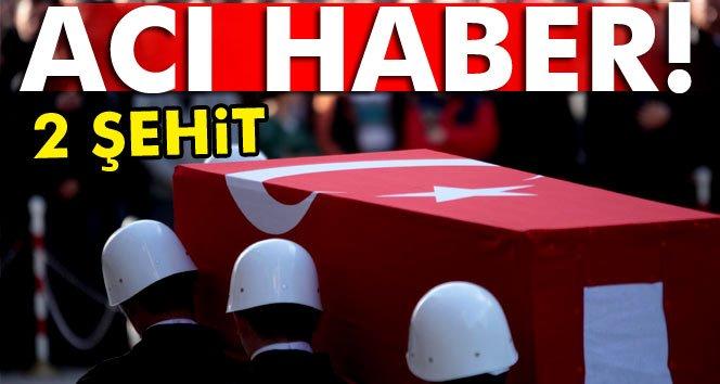Şırnak'tan acı haber: 2 şehit!